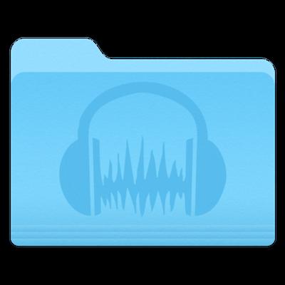 Audacity folder icon