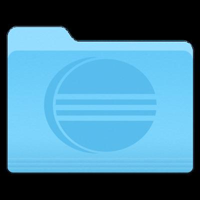 Eclipse folder icon