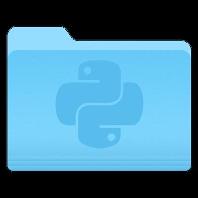 Python folder icon