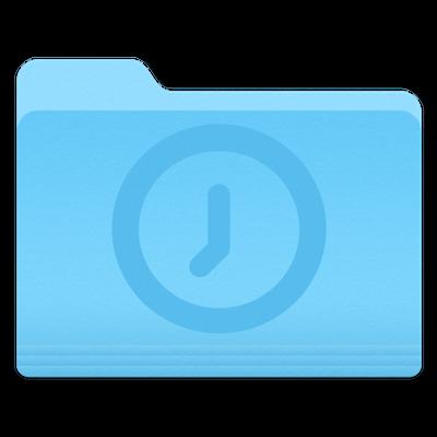Temporary folder icon