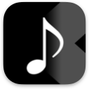 """Music Player X"" iOS app icon"