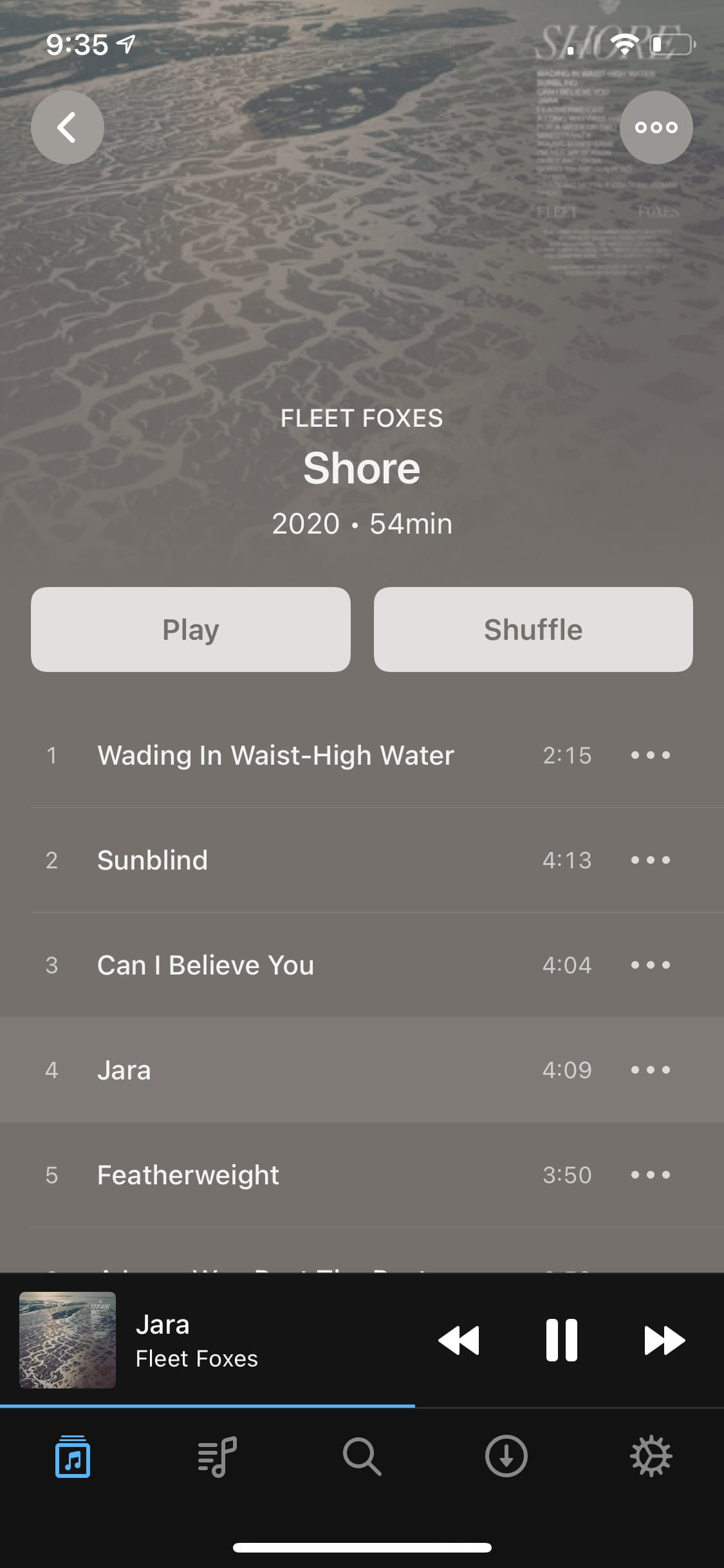 "Image of ""Doppler 2"" album view"