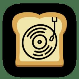 """""""Jams On Toast"""" iOS app icon"""