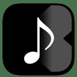 """Music Player X"" iOS app icon"
