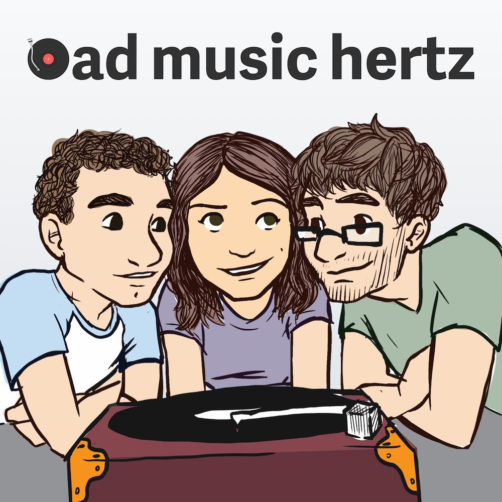 Bad Music Hertz podcast cover art